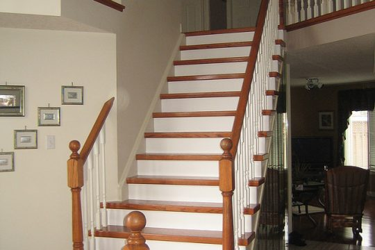 Stained Oak Stairs